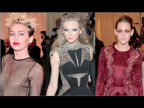 Taylor Swift Vs. Miley Cyrus Vs. Kristen Stewart: Best Punk Princess?! (Met Gala 2013)