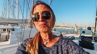 I Crashed our Boat in the Marina, Way to Make an Entrance! (Sailing La Vagabonde) Ep. 101