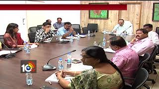 Telangana CS Shailendra Kumar Meeting on Water conservation | Hyderabad