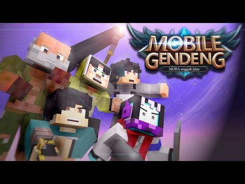 ANIMASI 4 BROTHER JADI MOBILE GENDENG ( parodi mobile legend )