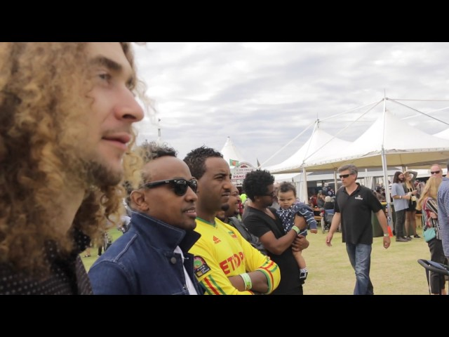 "Nhatty Man & Gara  (Flame & Fire) ""Fim Esat"" Filmed @ The 41st Port Fairy Folk Festival 2017"