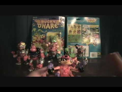 Bucky O'Hare figure review part 1: The Good Guys Video