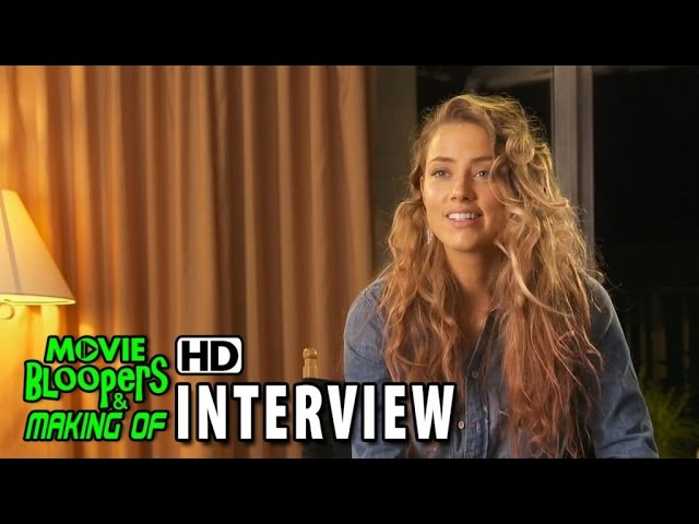Magic Mike XXL (2015) Behind the Scenes Movie Interview - Amber Heard is 'Zoe'