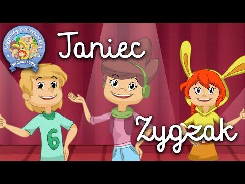 TANIEC ZYGZAK – Wygibasy Z Naszej Klasy - Piosenka Dla Dzieci, Dziecięce Hity!