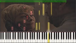 "Game of Thrones 08x05 ""The Bells"" Cersei & Jaime Death - Piano Tutorial (Synthesia)"
