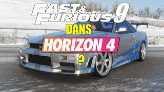 Forza Horizon 4 : Fast And Furious 9 sur FH4 ?