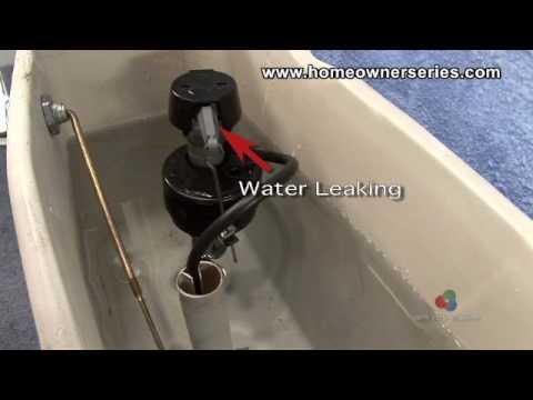 Repair Leaking Toilet