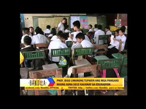BANDILA NEWS: 'Education reform far from being realized'