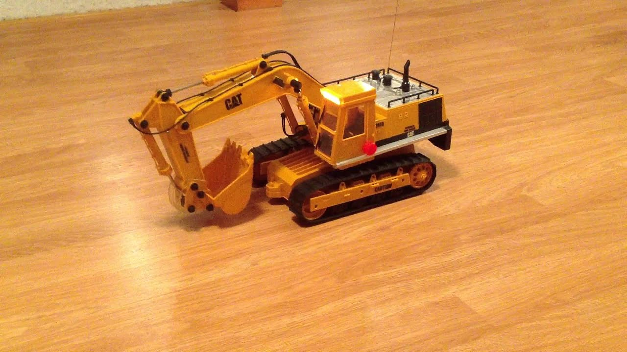 1992 New Bright Caterpillar 245D RC