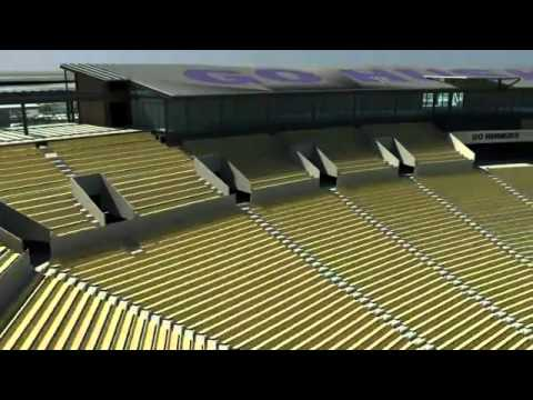 Husky Stadium Renovation Flyover