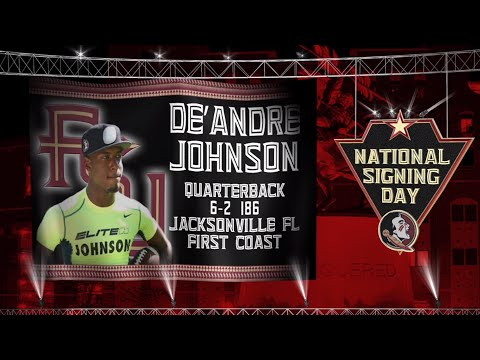 2015 Signing Day: De'Andre Johnson