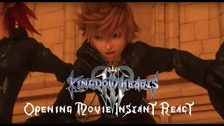 Clickbait Boyfriend: Kingdom Hearts 3 Opening Movie Trailer Instant React