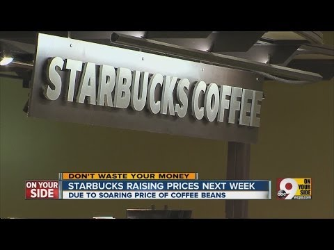 Starbucks raising prices next week