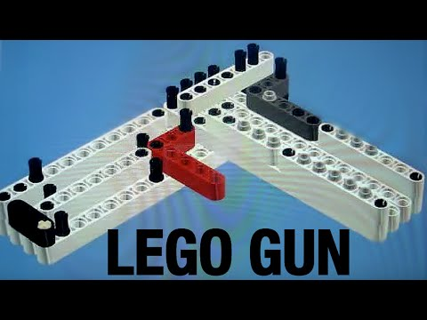 instruktions for the c-10 lego gun