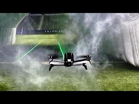 Drone Racing Battle ft. Liam Hemsworth and Jeff Goldblum | Dude Perfect