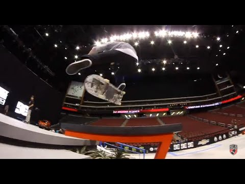 Street League 2012: AZ Practice Quick Clip with Shane O'Neill
