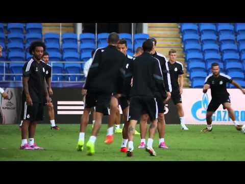 Gareth Bale und Cristiano Ronaldo zaubern im Training von Real Madrid | UEFA Supercup vs. FC Sevilla