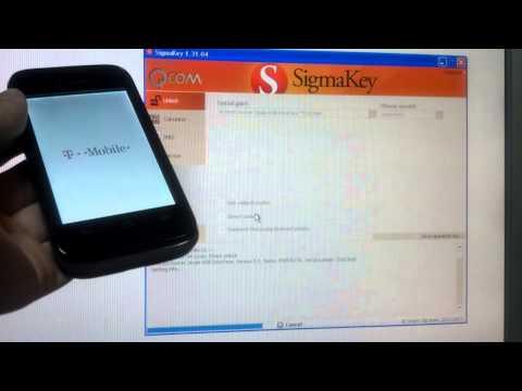 T-Mobile Prism II / Huawei U8686 direct unlock with Sigma