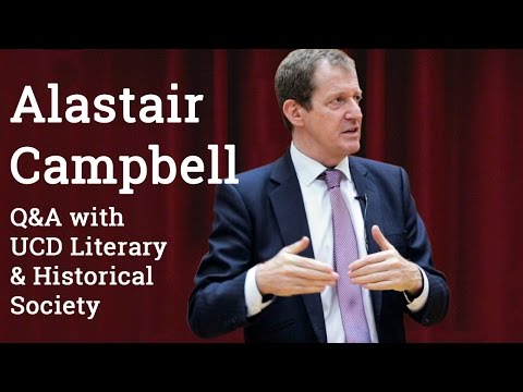 Alastair Campbell Q&A w/ UCD Literary & Historical Society (2016)