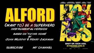 Kick Ass - Flying Home (Extended) - Jet Pack scene