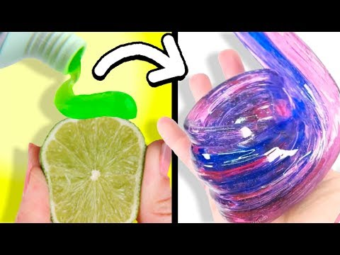 MOST SATISFYING GLOSSY SLIME VIDEO l Most Satisfying Glossy Slime Poking ASMR Compilation 2018 l 2