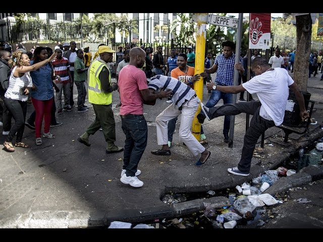Xenophobia and foreigners in south Africa