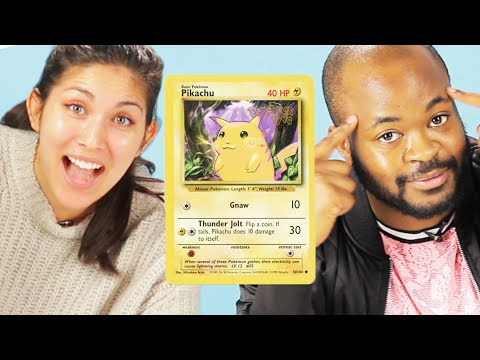 Cover Lagu People Guess The Prices Of Pokemon Cards