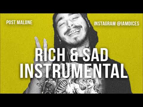 "Post Malone ""Rich & Sad"" Instrumental Prod. by Dices *FREE DL*"