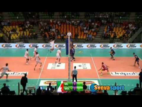 Volley Milano- Molfetta 0-3