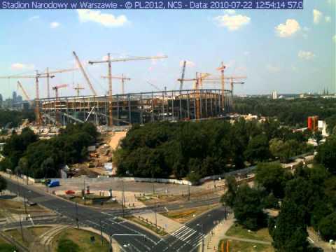 Budowa Stadionu Narodowego w minutę