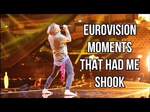 Eurovision moments that had me shook