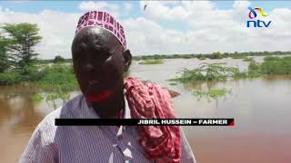Floods in Mandera have completely destroyed most farms