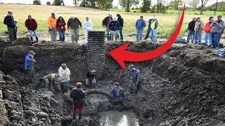 Granjero Encontró Un Agujero En Su Jardín Y Lo Que Vieron Adentro Los PARALIZÓ A TODOS ¡WOW!