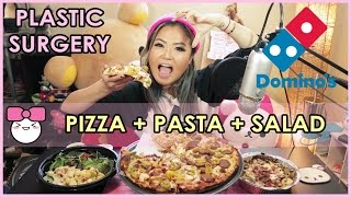 Dominos Pizza MUKBANG (Eating Show) | WATCH ME EAT