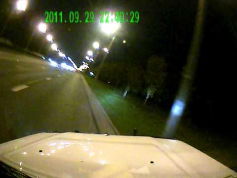 Чудом остался на дороге. ДТП Минск