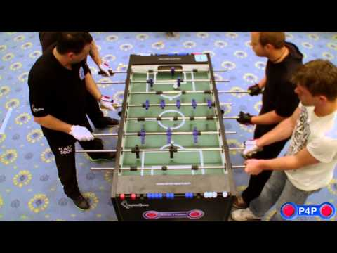 Foosball (Table-Soccer) German Championship 2012, Open Doubles Final