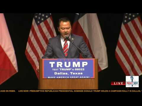 Legal Asian Immigrant stands with Donald J Trump