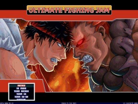 Ultimate Fighting Jam M.U.G.E.N by MG STUDIO