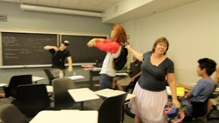 WHITE BOYS SHMONEY DANCE! | KICKED OUT CLASS @USC by These White Kids @BBtheJerk7