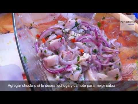 Así se prepara el Cebiche peruano