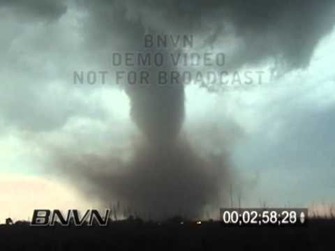 5/12/2004 Medicine Lodge Kansas Tornado Stock Video