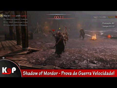 Shadow of Mordor - Prova de Guerra Velocidade!