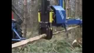Naarva S25 stroke harvester for first thinning - S25-sykeharvesteri