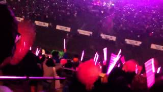 SONE fanchants during SNSD The Boys & IGAB performance at Dream Concert 2013