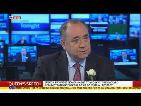 Alex Salmond On FIFA Arrests, EVEL & SNP MPs Clapping