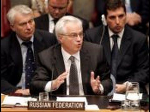 Vitaly Churkin: Empty Promises Petro Poroshenko