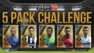 FIFA 13 5 Pack Challenge With Facecam Ultimate Team Episode 18