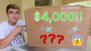 Unboxing A StockX $4000+ Hypebeast Mystery Box!! (Best Box EVER)
