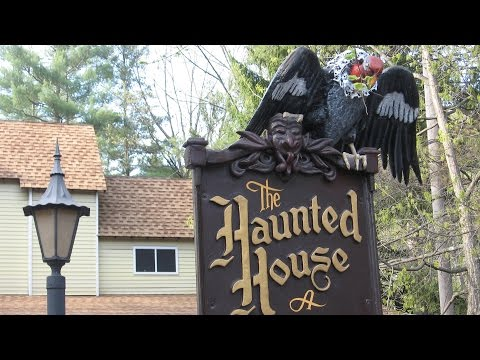 Knoebels Haunted House POV Super Scary Awesome Classic Dark...