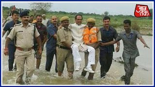 MP CM Shivraj Singh Chauhan's Pictures Creates Controversy
